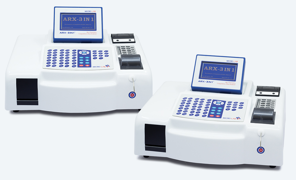 Biochemistry - Elisa - Coagulation Analyzer ARX 3 in 1